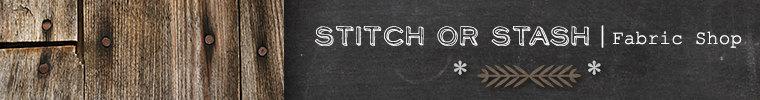 Stitch or stash